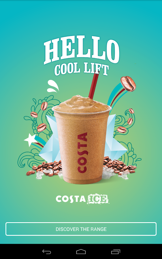 Costa Coffee Club - screenshot