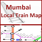 Mumbai Local Train Map (Free)