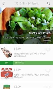 Grocery Gateway- screenshot thumbnail