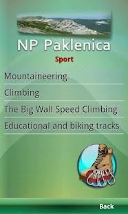 NP Paklenica - Official Guide- screenshot thumbnail