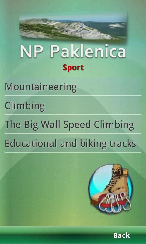 NP Paklenica - Official Guide- screenshot