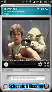 Alan Weinstein's VIP App- screenshot thumbnail