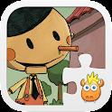 Pinocchio Puzzle Geschichten