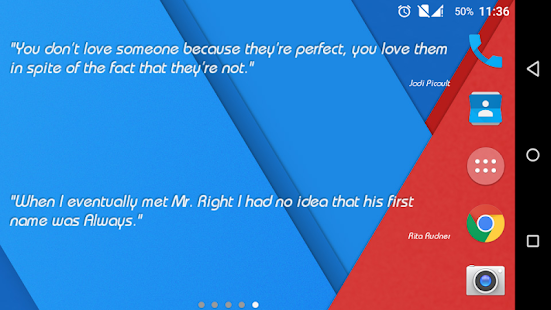 Quote Widget for Android- screenshot thumbnail