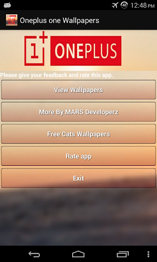 Wallpapers Oneplus One
