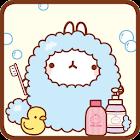 Cacao molrang bath let theme icon
