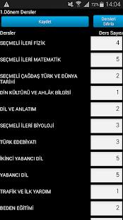 E-Okul Ortalama Hesaplama - screenshot thumbnail