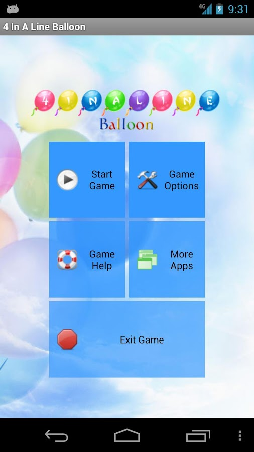 4 In A Line Balloon Free - screenshot