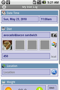DietLog - screenshot thumbnail