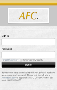 AFC on the Go - screenshot thumbnail