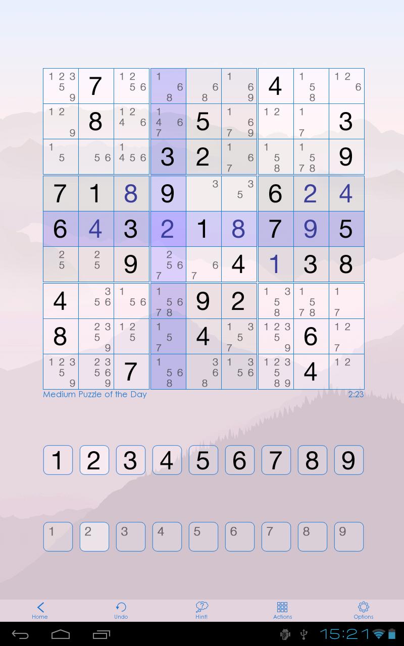 Sudoku Of The Day screenshot #5
