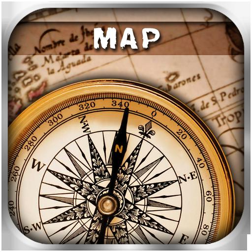 地圖指南針 工具 App LOGO-APP試玩
