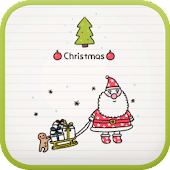 Doodle Christmas go launcher