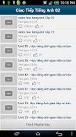 Screenshot of Tu hoc tieng anh qua video