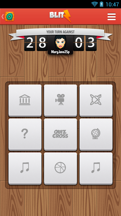 QuizCross - screenshot
