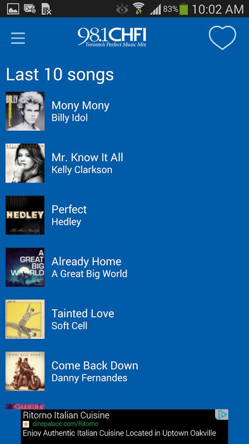 Rogers Radio - screenshot