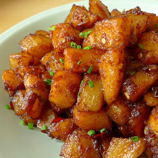 Spicy Tamarind Potatoes