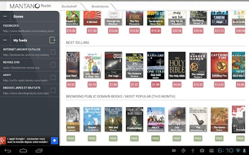 Bookari Free Epub PDF Reader- screenshot thumbnail