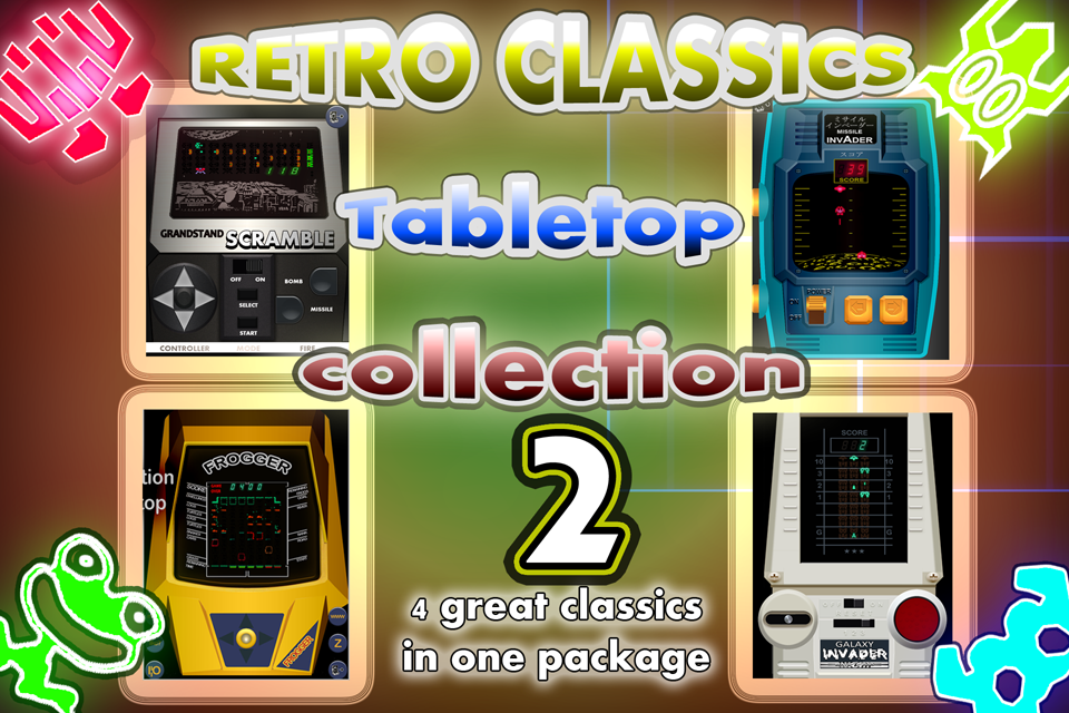 4 Retro Classics in 1: Tabletop Games Part 2- screenshot