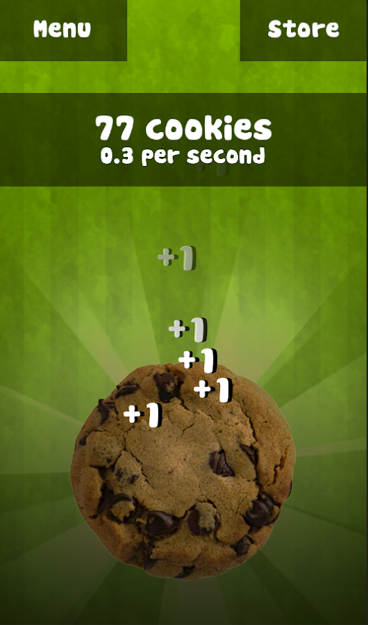 Cookie Tapper - screenshot