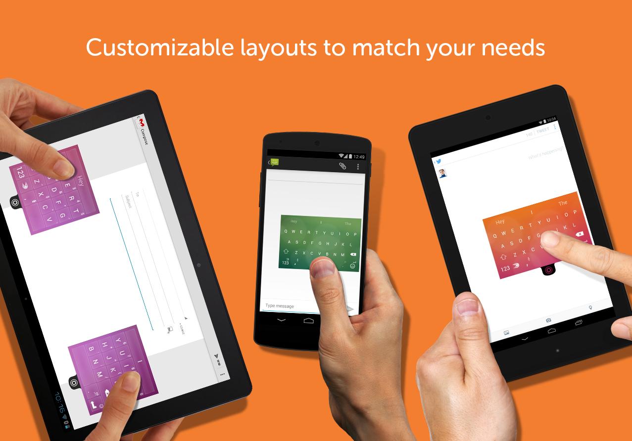 SwiftKey Keyboard + Emoji - screenshot