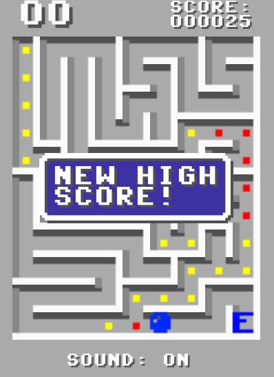 C64 Maze Run - screenshot