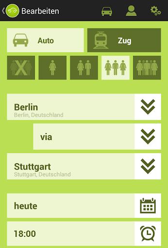 【免費交通運輸App】Fahrgemeinschaft-APP點子