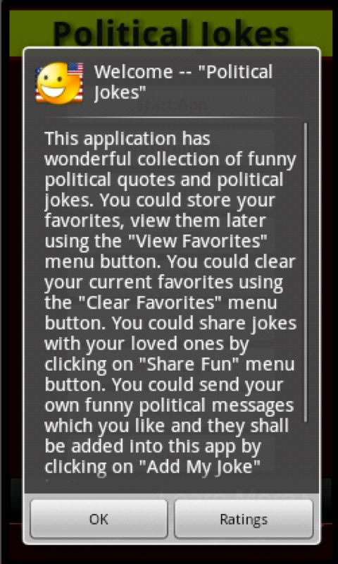 Political Jokes- screenshot