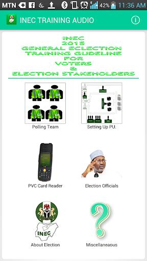 INEC MANUAL 2015 AUDIO