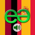 German to Spanish Pro logo