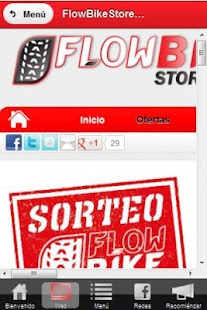 FlowBikeStore.com - screenshot thumbnail