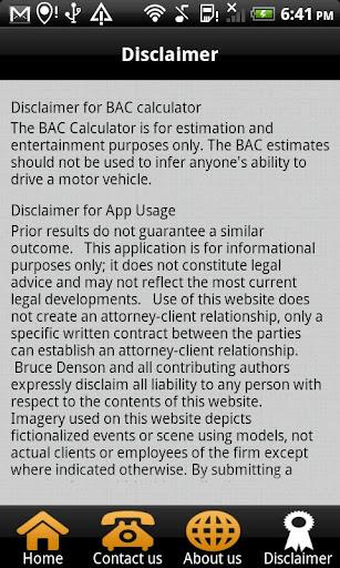 【免費生產應用App】DUI Help ~ Bruce Denson-APP點子