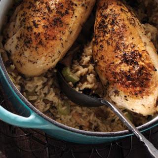 Chicken & Wild Mushroom Casserole