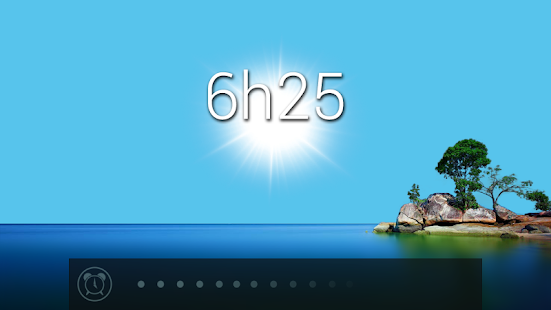 Glimmer (luminous alarm clock) - screenshot thumbnail