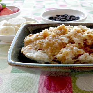 Crock-Pot Overnight Apple Oatmeal.