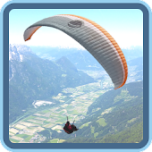 Paragliding Live Wallpaper