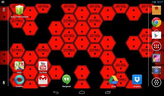 Hexagon Battery Indicator LWP- screenshot thumbnail