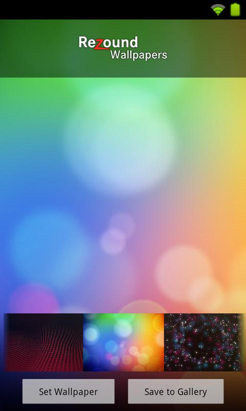 Wallpapers - HTC Rezound - screenshot