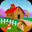 Farm Adventure for Kids Free icon