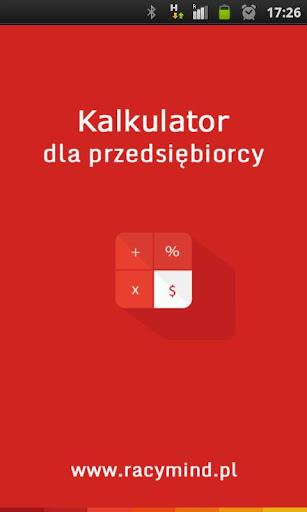 Kalkulator dla przedsiębiorcy