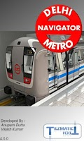 Screenshot of Delhi Metro Navigator