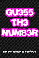 Screenshot of Guess The Number