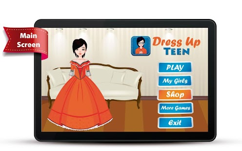 Dress Up Teen- screenshot thumbnail