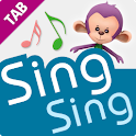 Sing Sing Together All for TAB logo