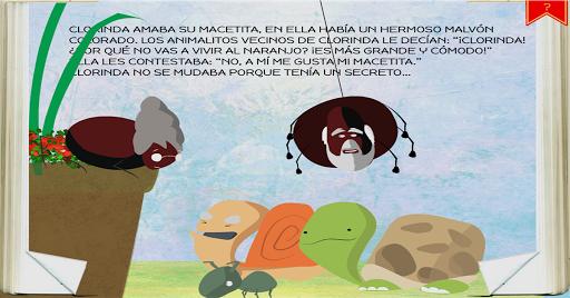 【免費教育App】Cuento free :La araña clorinda-APP點子