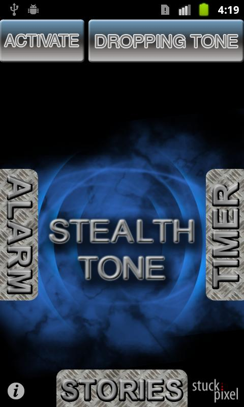Screenshots of Stealth Tone for iPhone