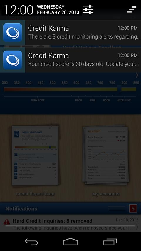 Credit Karma Mobile - screenshot