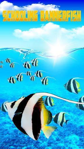 水族館魚類動態壁紙