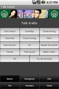 Talk Arabic - screenshot thumbnail