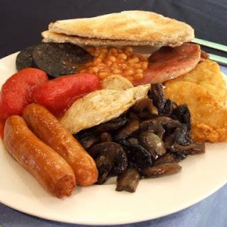 Mushrooms English Breakfast Recipes.